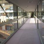 Passage entre les bâtiments au 4ème