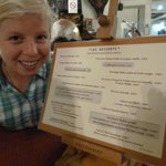 "With the ""desserts"" menu - I took crêpes Suzettes"