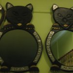kitty kat mirrors