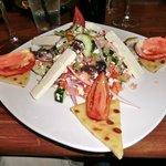 Village Salad at My Big Fat Greek Restaurant
