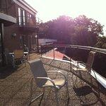 Shared balcony/patio