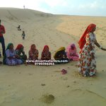 At desert