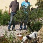 Joel,Harald,Foxy und mein Schatz Carnelle