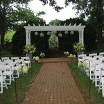 Wedding. Ceremony Site