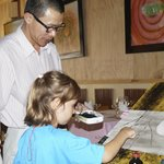 Art lesson at the New Art Cafe