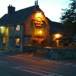 The Radnor Arms by night