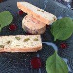 foie gras homard fruits rouges
