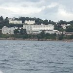 view from ferry going back to torquay