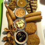 Thai Jasmine Appetizer Platter