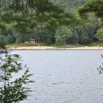 Deep Creek Lake State Park, the best place to swim on the lake, is right across the cove.