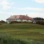 View of Royal County Down Golf Clubhouse