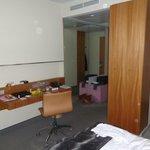 de kamer in het hotel