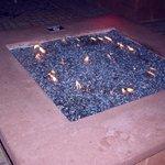 Patio fire pit