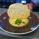 le fameux risotto à la crème de truffe