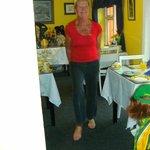 Noreen zeigt Irisch Dance