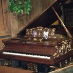 Ford family hired artists to play this recording player piano. Gershwin was one of  the artist!