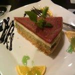 """Tarta salada de queso """"Tricolore"""""""