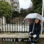 The last tiled Abbey Road sign!