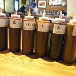 6 sauces