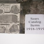 Linda search and found many of the items on display  that were sold in the Sears Catelog.