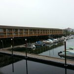 View from the room at the marina