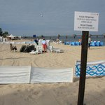 (private) beach