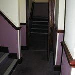 Corridors in the Stroud Premier Inn