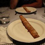 Трубочки на десерт