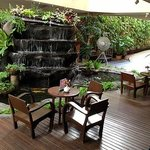 Sitting Area in Open Air Lobby