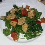 Baby Kale Caeser Salad