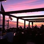 spectacular sunset at Fleetwood's July 6,2013