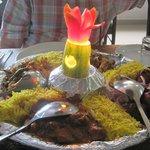 Combination platter - Taj Darbar restaurant
