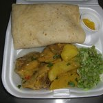 Roti Curry Chicken