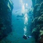 Scuba diving Silfra