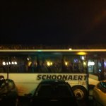 Bus au départ du Spey river vers discotheque