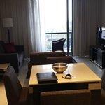 Lounge room & balcony