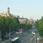 view from the room of the Leidseplein