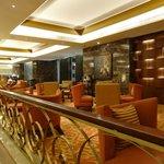 Tea lounge in lobby level