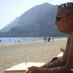 Olympos Dağları ve sahil
