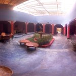 Panorama of the riad