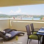 Two-Bedroom Apartments' top floor terrace in Villa Monte