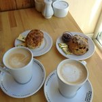 Coffee and Scones at The Bothy.  (photo from alisonchino.com)