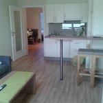 Salone vista cucina