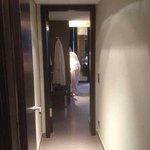 Hallway in the suite