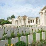 Cemetry and Memorial, Arras