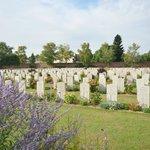 Commonwealth cemetry, Arras
