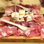 degustazione affettati e formaggi