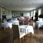 Breakfast room with stunning views of the Loch