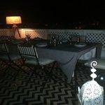 cena sul terrazzo