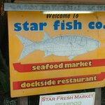Foto di Star Fish Company Dockside Restaurant